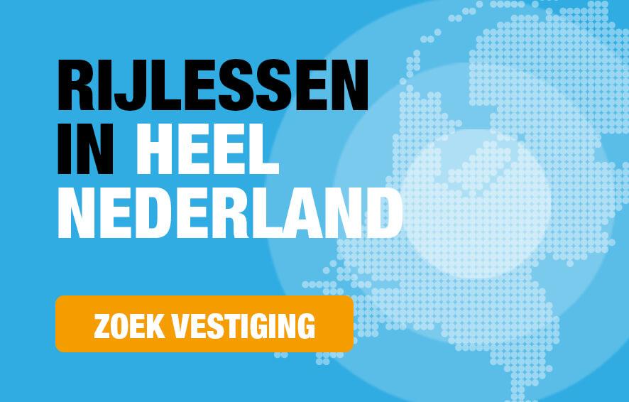 Rijlessen in heel Nederland